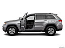 2017 Jeep Grand Cherokee Laredo, driver's side profile with drivers side door open.