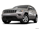 2017 Jeep Grand Cherokee Laredo, front angle view, low wide perspective.