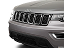 2017 Jeep Grand Cherokee Laredo, close up of grill.
