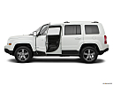 2017 Jeep Patriot Sport, driver's side profile with drivers side door open.