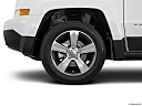 2017 Jeep Patriot Sport, front drivers side wheel at profile.