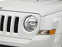 2017 Jeep Patriot Sport, drivers side headlight.