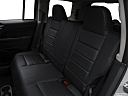 2017 Jeep Patriot Sport, rear seats from drivers side.