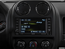 2017 Jeep Patriot Sport, closeup of radio head unit