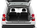 2017 Jeep Patriot Sport, hatchback & suv rear angle.