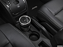 2017 Jeep Patriot Sport, cup holder prop (primary).