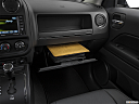 2017 Jeep Patriot Sport, glove box open.