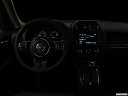 "2017 Jeep Patriot Sport, centered wide dash shot - ""night"" shot."