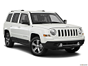 2017 Jeep Patriot Sport, front passenger 3/4 w/ wheels turned.