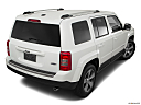 2017 Jeep Patriot Sport, rear 3/4 angle view.