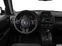 2017 Jeep Patriot Sport, steering wheel/center console.