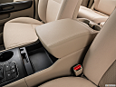 2017 Kia Sedona LX, front center console with closed lid, from driver's side looking down