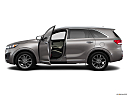 2017 Kia Sorento SX Limited, driver's side profile with drivers side door open.