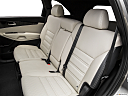 2017 Kia Sorento SX Limited, rear seats from drivers side.