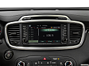 2017 Kia Sorento SX Limited, closeup of radio head unit