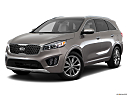 2017 Kia Sorento SX Limited, front angle medium view.