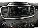 2017 Kia Sorento SX Limited, driver position view of navigation system.