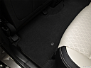 2017 Kia Sorento SX Limited, rear driver's side floor mat. mid-seat level from outside looking in.