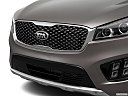 2017 Kia Sorento SX Limited, close up of grill.