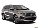2017 Kia Sorento SX Limited, front passenger 3/4 w/ wheels turned.