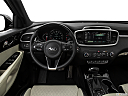 2017 Kia Sorento SX Limited, steering wheel/center console.