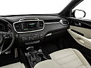 2017 Kia Sorento SX Limited, center console/passenger side.