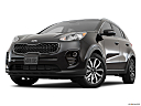 2017 Kia Sportage LX, front angle view, low wide perspective.