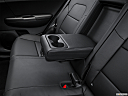 2017 Kia Sportage LX, rear center console with closed lid from driver's side looking down.
