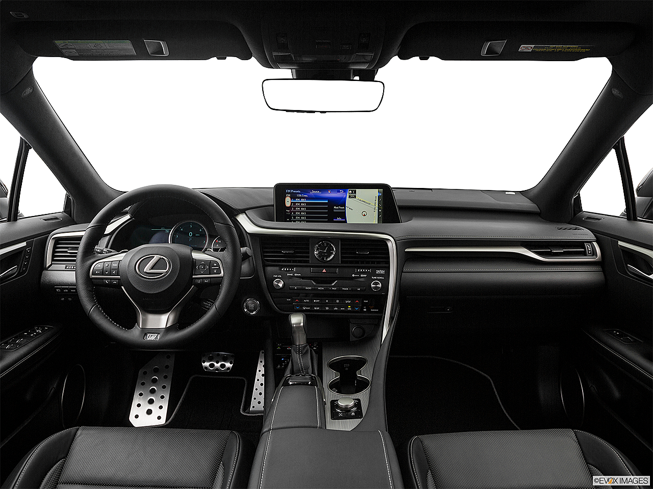 2017 Lexus RX RX 350 F Sport, Centered Wide Dash Shot
