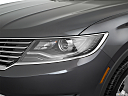 2017 Lincoln MKX Premiere, drivers side headlight.
