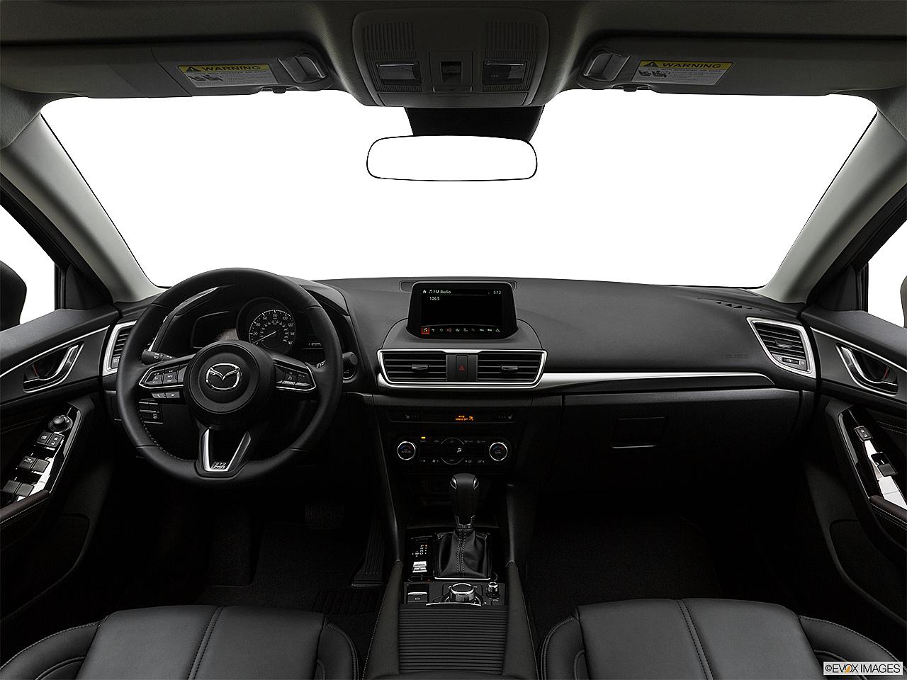 2017 Mazda Mazda3 Touring 2 5 Centered Wide Dash Shot