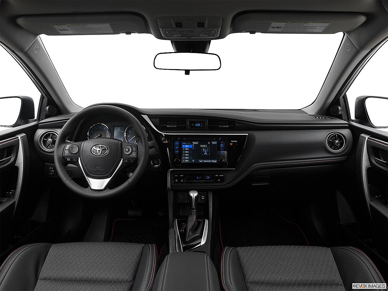 2017 Toyota Corolla 50th Anniversary Special Edition Centered Wide Dash Shot
