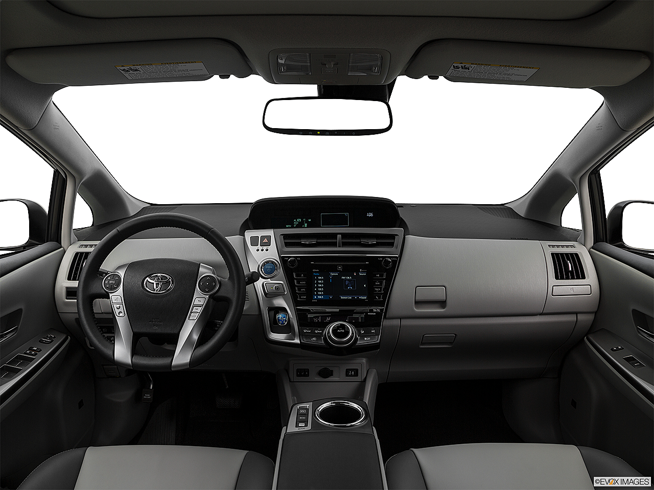 2017 Toyota Prius V Five Centered Wide Dash Shot
