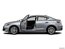 2018 Acura ILX, driver's side profile with drivers side door open.