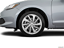2018 Acura ILX, front drivers side wheel at profile.