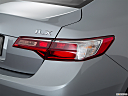 2018 Acura ILX, passenger side taillight.