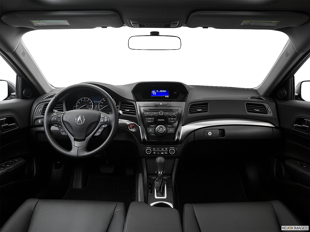 2018 Acura ILX, centered wide dash shot