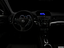 "2018 Acura ILX, centered wide dash shot - ""night"" shot."