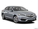 2018 Acura ILX, front passenger 3/4 w/ wheels turned.
