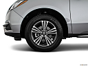 2018 Acura MDX, front drivers side wheel at profile.