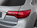 2018 Acura MDX, passenger side taillight.