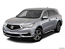2018 Acura MDX, front angle view.