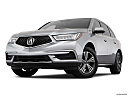 2018 Acura MDX, front angle view, low wide perspective.