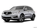 2018 Acura MDX, front angle medium view.
