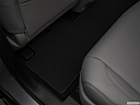 2018 Acura MDX, rear driver's side floor mat. mid-seat level from outside looking in.