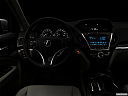 "2018 Acura MDX, centered wide dash shot - ""night"" shot."