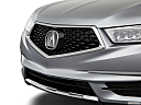 2018 Acura MDX, close up of grill.