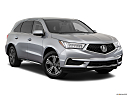 2018 Acura MDX, front passenger 3/4 w/ wheels turned.