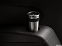 2018 Acura MDX, third row side cup holder with coffee prop.
