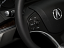 2018 Acura MDX, steering wheel controls (left side)